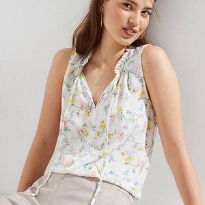NWT tie neck blouse